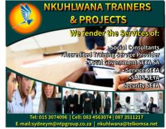 Nkuhlwana Trainers & Projects