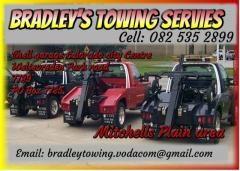Bradley's towing services