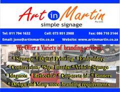 Art in Martin