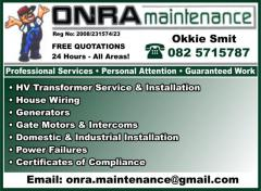 Onra Maintenance