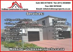 VicBless Construction & Projects