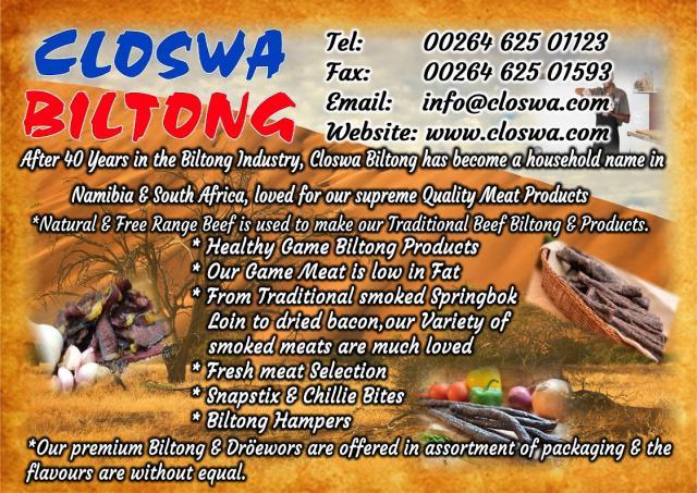 Closwa Biltong