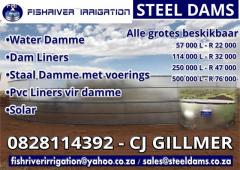 Fishriver Irrigation Steel Dams