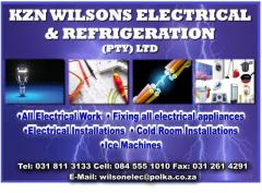 KZN WILSONS ELECTRICAL,REFRIGERATION & SERVICES (PTY) LTD