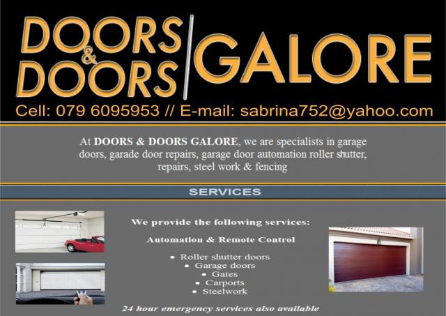 Doors and Doors Galore  sc 1 st  Business Directory & Doors and Doors Galore Johannesburg - Business Directory