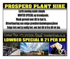 PROSPERO PLANT HIRE