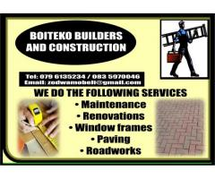 Boiteko Home Builders and Construction