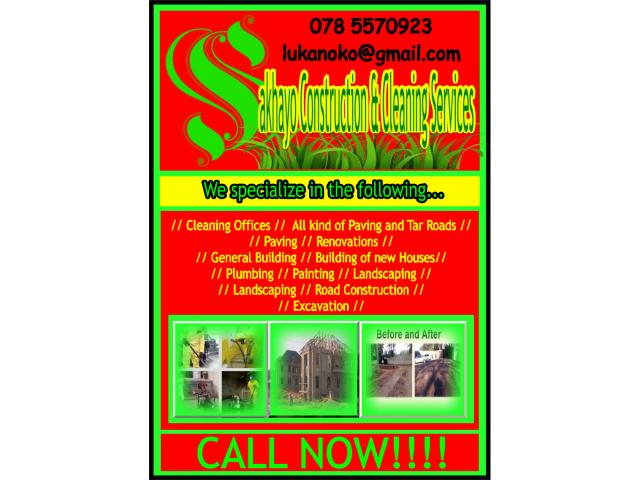 Sakhayo Construction and Cleaning Services