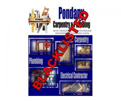 Pondany Carpentry & Plumbing