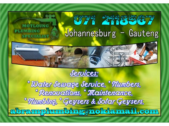 how to become a plumber in south africa
