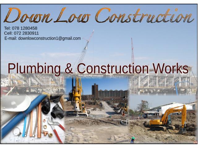 Down Low Construction Sebokeng Contractors Directory