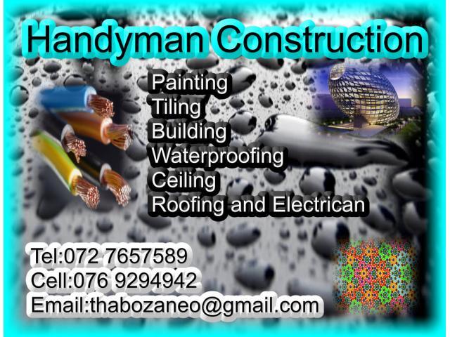 Handyman Construction Germiston Contractors Directory