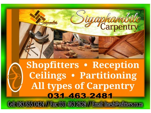 Siyaphambile Carpentry
