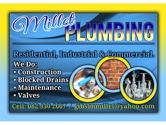 Millet Plumbing Pretoria Contractors Directory