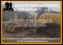 Annoza Earthmoving Mechanics & Field Services