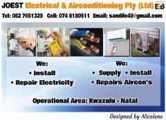 Joest Electrical & Airconditioning Pty (Ltd)