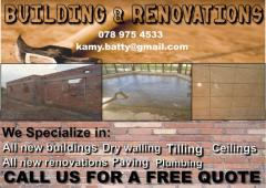 Building & Renovations