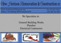New Horizon Rennovation & Construction cc