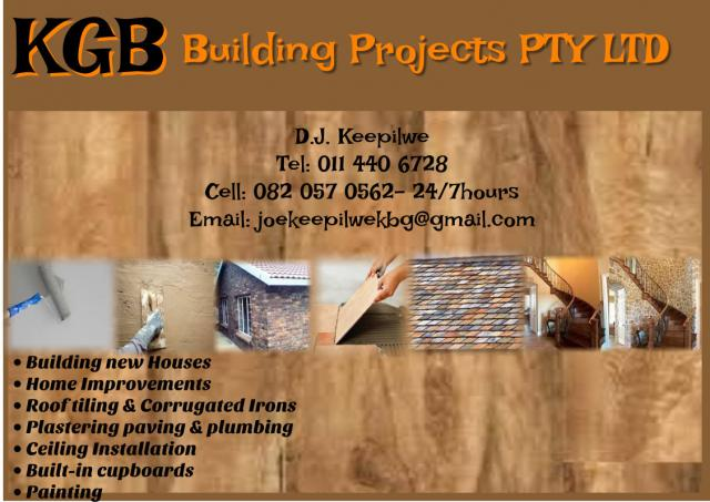KGB Building Projects PTY LTD