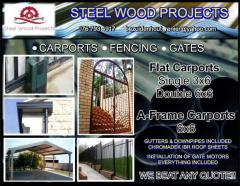 Steel Wood Projects