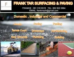 Frank Tar Surfacing & Paving
