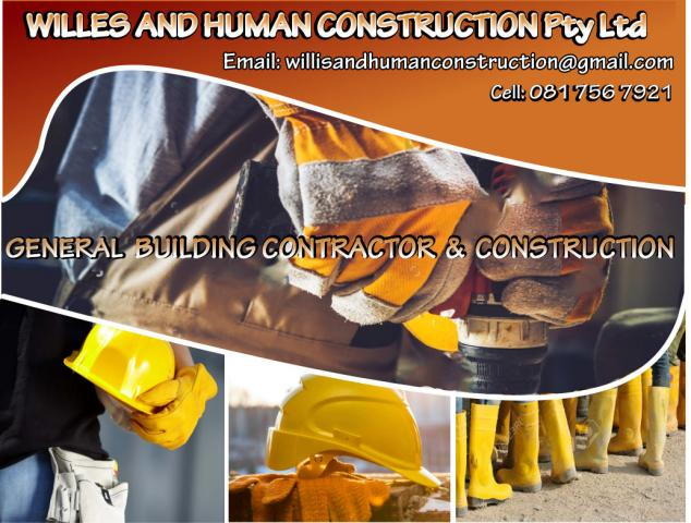 Willis And Human Construction PTY LTD
