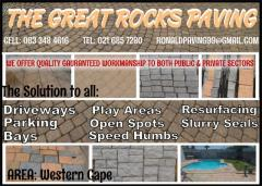 The Great Rock Paving