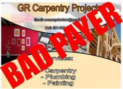 GR Carpentry Projects