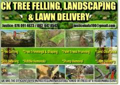 CK Tree Felling, Landscaping & Lawn Delivery