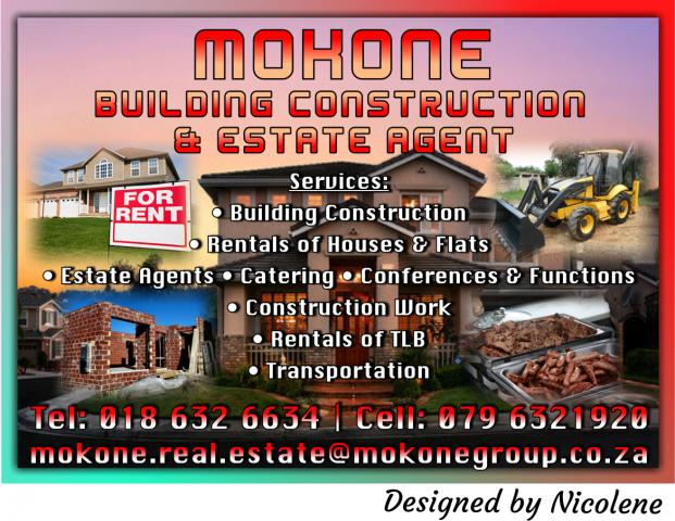 MOKONE BUILDING CONSTRUCTION & ESTATE AGENT