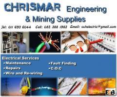 Chirsmar Engineering & Mining Suppliers
