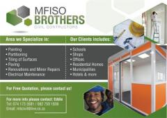 Mfiso Brothers Civil Contructors