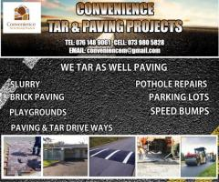 Convenience Tar & Paving Projects