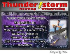 Thunderstorm Waterproofing