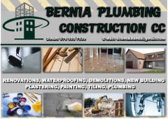 BERNIA PLUMBING CONSTRUCTION CC