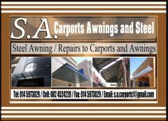 S.A. Carports Awnings and Steel