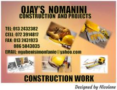O JAY'S Nomanini Construction and Projects