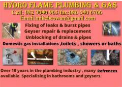 HydroFlame Plumbing & Gas