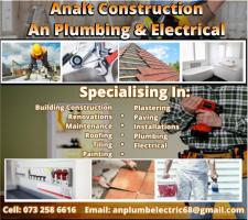 Analt Construction T/A An Plumbing & Electrical