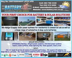 Battery-Tec Reconditioning & Solar Solutions (pty) ltd