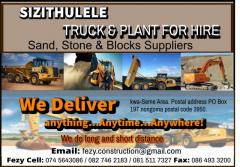 SIZITHULELE TRUCK & PLANT FOR HIRE