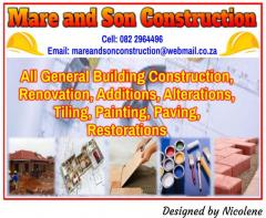 Mare and Son Construction