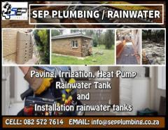 Sep Plumbing / Rainwater