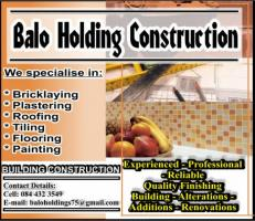 Balo Holding Construction
