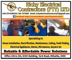Richy Electrical Contractors (Pty) Ltd