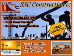SSC Construction cc