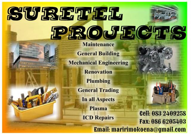 Suretel Projects
