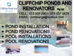 Cliffchip Ponds and Renovators Pty Ltd