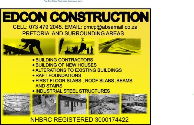 Edcon Construction Contractors Directory