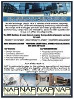 NAPD HOLDINGS Pty (Ltd)